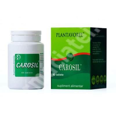 Carosil, 40 tablete, Plantavorel