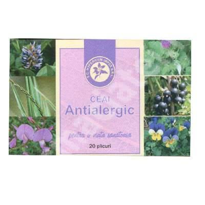 Ceai antialergic, 20 plicuri, Hypericum