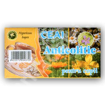 Ceai anticolitic pentru copii, 30 g, Hypericum