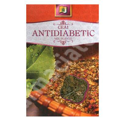 Ceai antidiabetic, 50 g, Ștef Mar Vâlcea