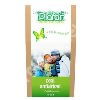 Ceai antigripal, 50 g, Plafar
