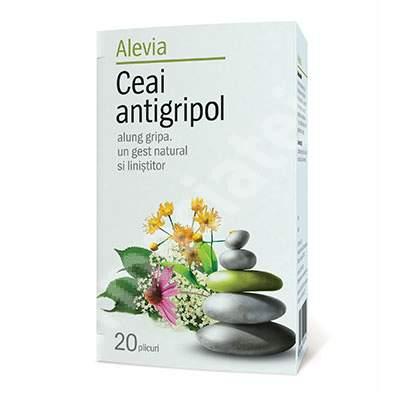 Ceai antigripol, 20 plicuri, Alevia