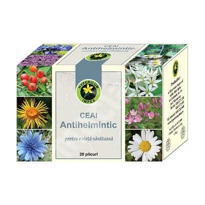 Ceai Antihelmintic, 20 plicuri, Hypericum