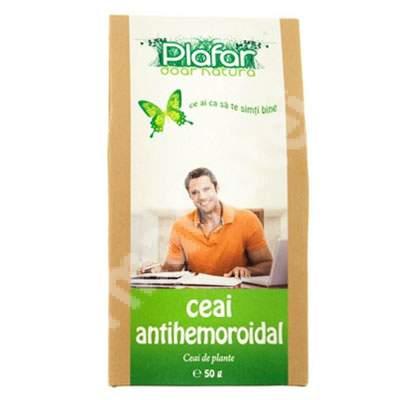 Ceai antihemoroidal, 50 g, Plafar