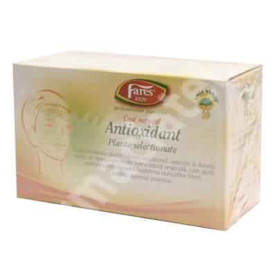 Ceai Antioxidant, 20 plicuri, Fares