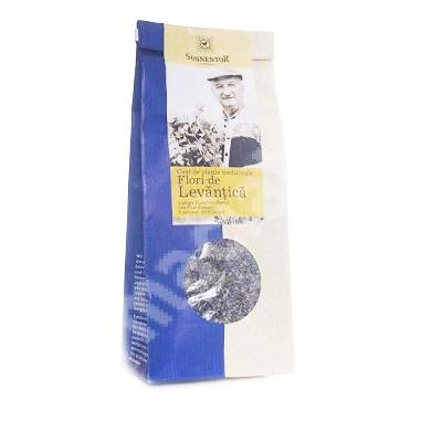 Ceai bio flori de levantica, 70 g, Sonnentor