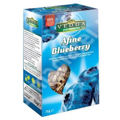 Ceai de afineX, 75 g, Vedda