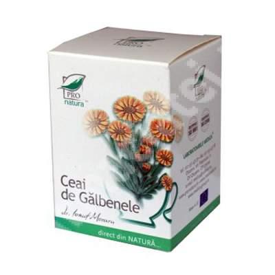 Ceai de Galbenele, 20 plicuri, Pro Natura