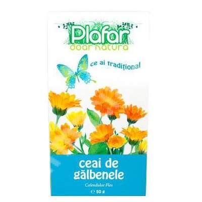 Ceai de Galbenele Flori, 50 g, Plafar