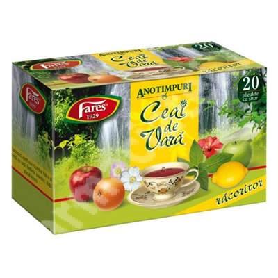 Ceai de Vara, 20 plicuri, Fares