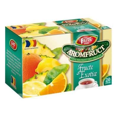 Ceai Fructe Exotice Aromfruct, 20 plicuri, Fares