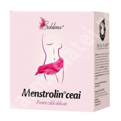 Ceai Menstrolin Sublima, 50 g, Dacia Plant