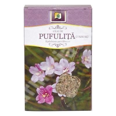 Ceai Pufulita cu Flori Mici, 50g, Stef Mar Valcea