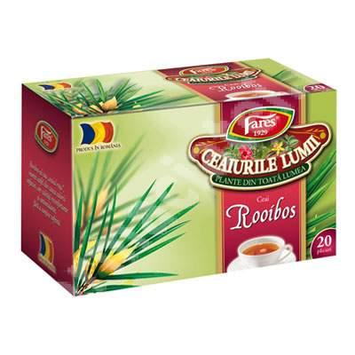 Ceaiurile Lumii Rooibos, 20 plicuri, Fares