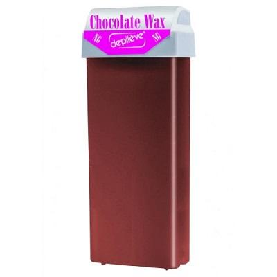 Ceară roll-on de unică folosință Ciocolată, 100 ml, Depileve