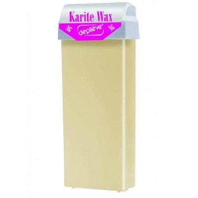 Ceară roll-on de unică folosință Karite, 100 ml, Depileve