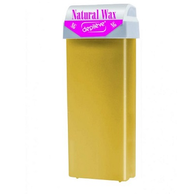 Ceară roll-on de unică folosință Natural Wax, 100 ml, Depileve