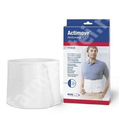 Centura abdominala cu protectie din spuma, Actimove Abdominal II, latime 23cm, marime M, BSN Medical