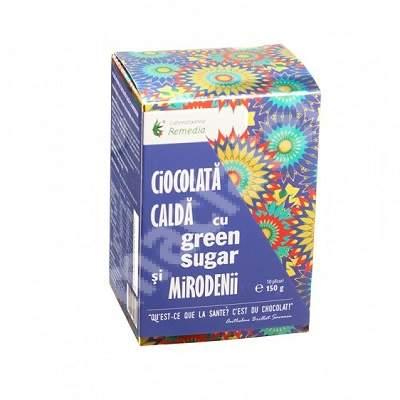Ciocolată caldă cu Green Sugar și Mirodenii, 10 plicuri, Remedia