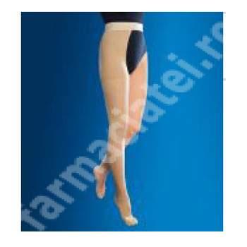 Ciorapi compresivi drept cu centura, Marimea L, 1322, Anatomic Help