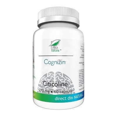 Citicoline Cognizin 270mg, 60 capsule, Pro Natura