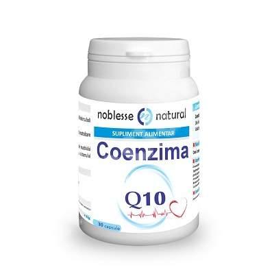 Coenzima Q 10, 30 capsule, Noblesse