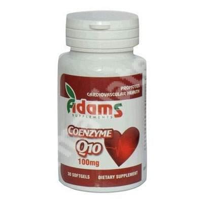 Coenzima Q10 100mg, 30 capsule, Adams Vision
