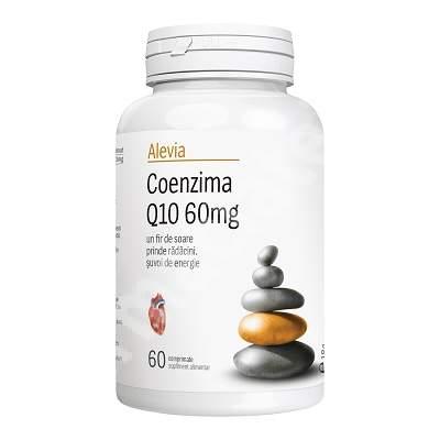 Coenzima Q10 60mg, 60 comprimate, Alevia