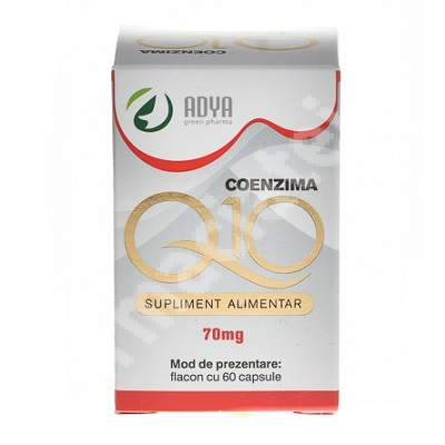 Coenzima Q10 70 mg, 60 capsule, Adya