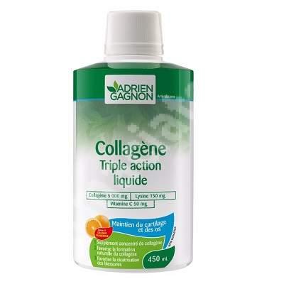 Collagen Triple Action Liquid, 450 ml, Sante Naturelle