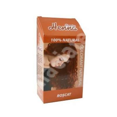 Colorant natural Sonia Henna roșcat, 100 g, Kian Cosmetics