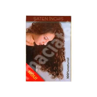 Colorant pentru par Sonia Henna saten închis, 100 g, Kian Cosmetics