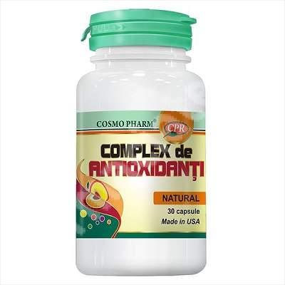 Complex de Antioxidanti, 30 capsule, Cosmopharm