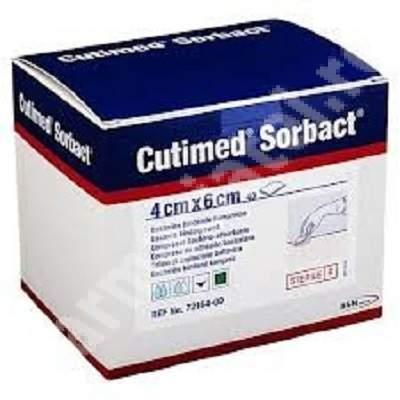 Comprese Cutimed Sorbact, 4 cm x 6 cm, BSN Medical
