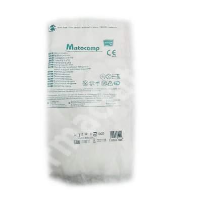 Compresa din tifon Matocomp, 10 cm x 20 cm, Matopat