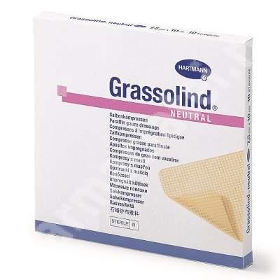 Comprese sterile Grassolind (499336), 10x20 cm, 30 bucăți, Hartmann