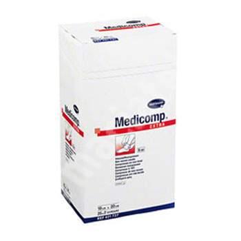 Comprese sterile Medicomp Extra, 10x20 cm (421737), 25 bucăți, Hartmann