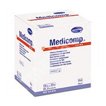 Comprese sterile Medicomp Extra, 7.5x7.5 cm (411076), 25 bucăți, Hartmann