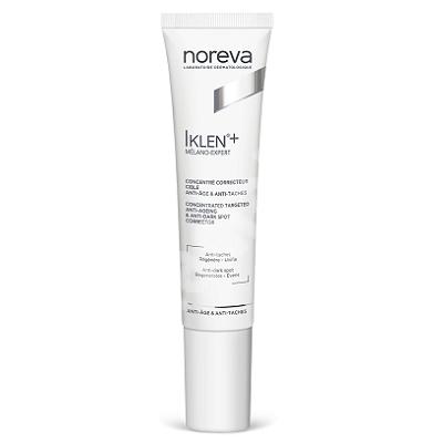 Concentrat corector cu actiune tintita anti-rid si anti-pete brune Iklen+ Melano-Expert, 15 ml, Noreva
