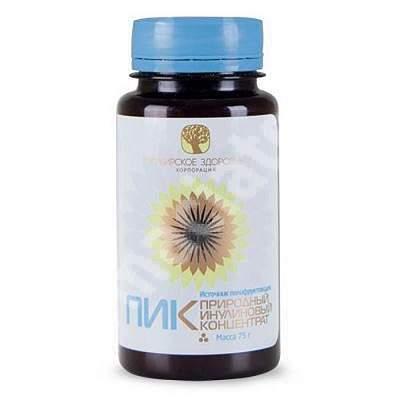 Concentrat natural de inulina NIC, 110 g, Siberian Health