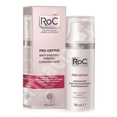 Concentrat pentru redarea fermitatii pielii Pro-Define, 50 ml, Roc