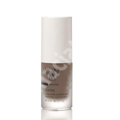 Concentrat purifiant pentru ten cu tendinta acneica Juvenil, 15 ml, YonKa
