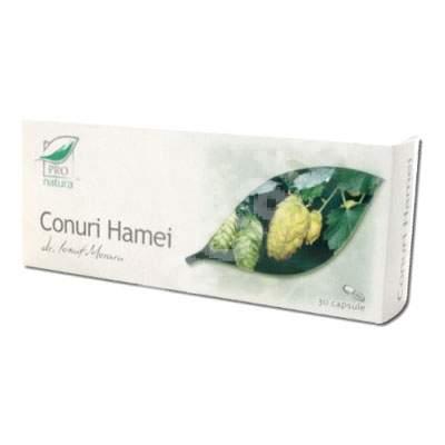Conuri Hamei, 30 capsule, Pro Natura
