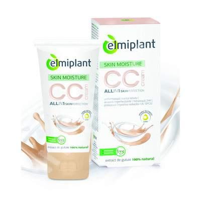 Cream CC Skin Moisture, Nuanța mediu, 50 ml, Elmiplant