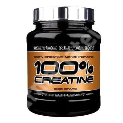 Creatine monohidrat 100%, 1000 g, Sitec Nutrition