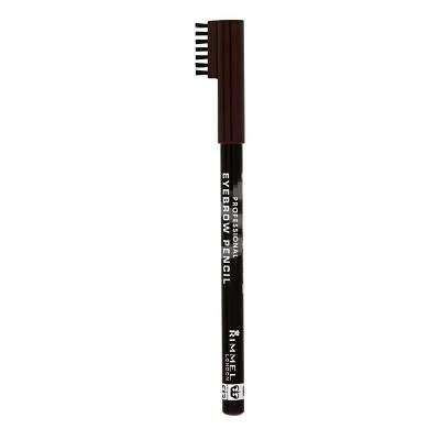 Creion pentru sprancene 004 Black, 1.4 g, Rimmel London Professional