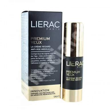 Crema anti-aging pentru conturul ochilor Premium, 15 ml, Lierac