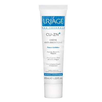 Cremă anti iritații Cu Zn, 40 ml, Uriage