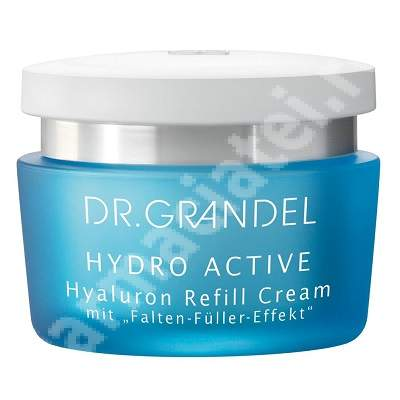 Crema antirid cu acid hialuronic Hydro Active (11169), 50 ml, Dr. Grandel
