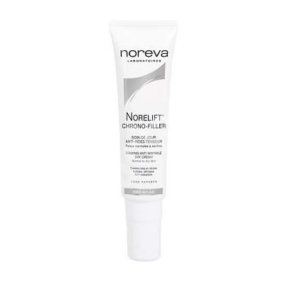Crema antirid de zi pentru piele normala spre uscata Norelift Chrono-Filler, 30 ml, Noreva